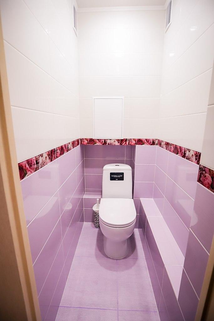 Объединение ванны и туалета в панельном доме