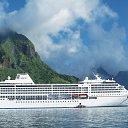 Круизный лайнер компании Regent Seven Seas Cruises - частый гость нашего порта.