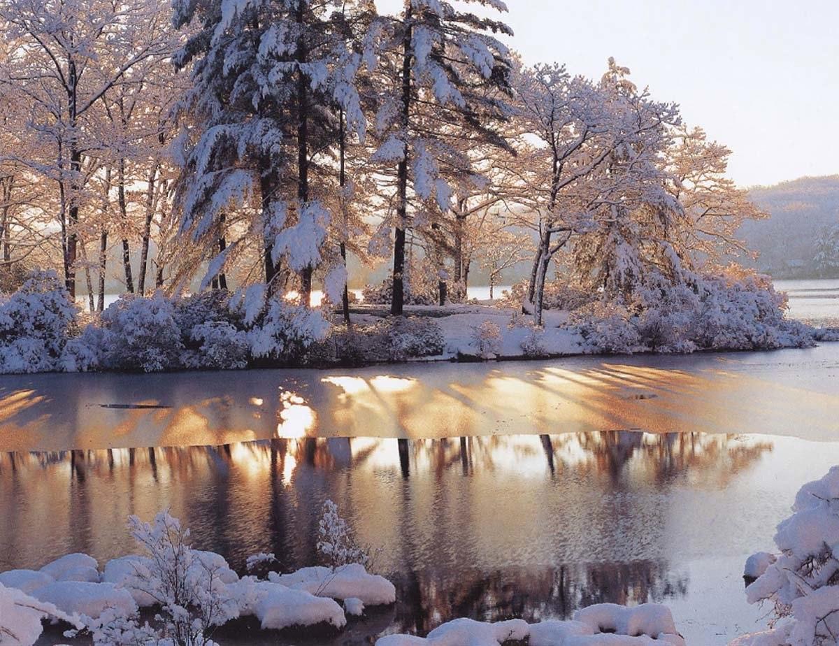 хорошие зимние картинки никому