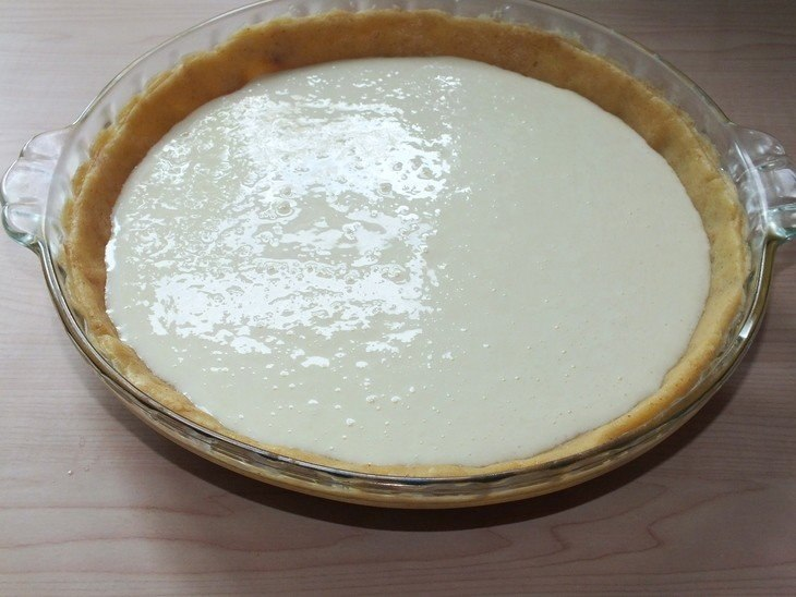 Тарт с мандаринами.Ингредиенты:Масло сливочное — 100 гЯичные желтки — 2 шт.Мука пшеничная — 130 ... - 9