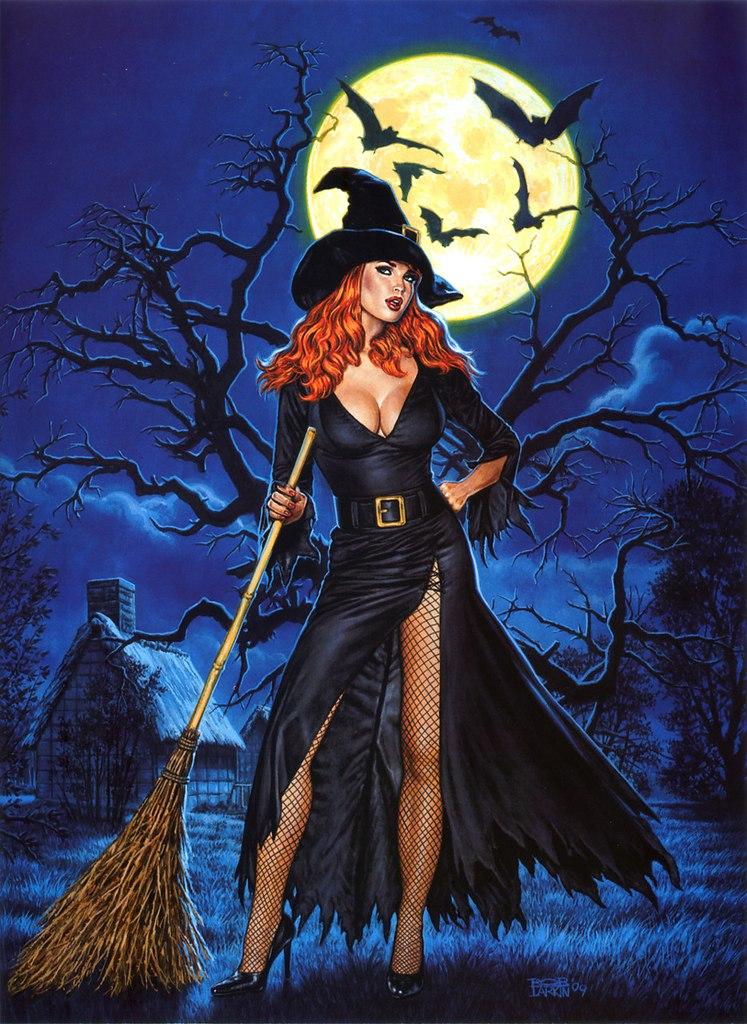 жителей картинки в виде ведьмы меня
