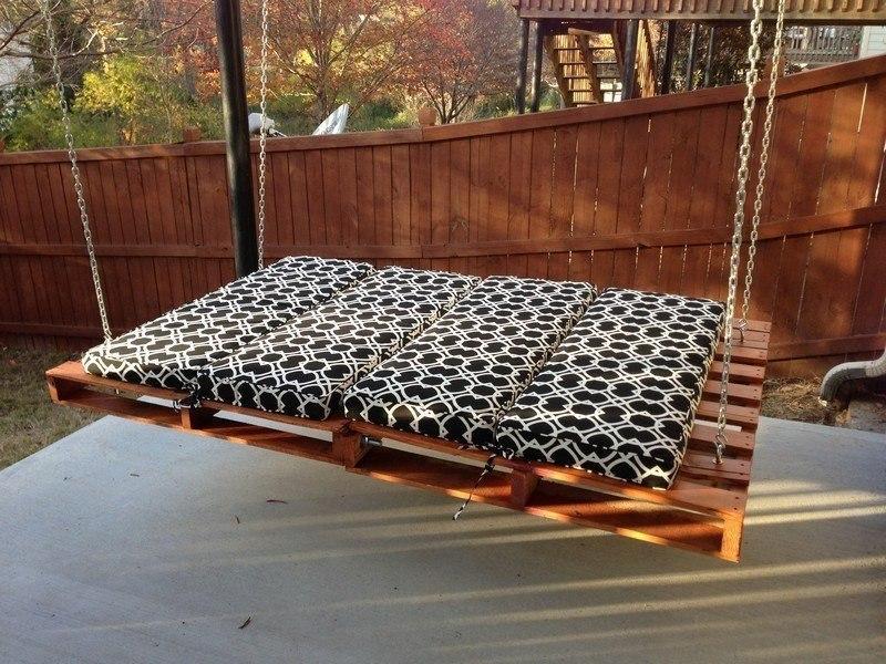 Бюджетные идеи для мебели из палет - 8