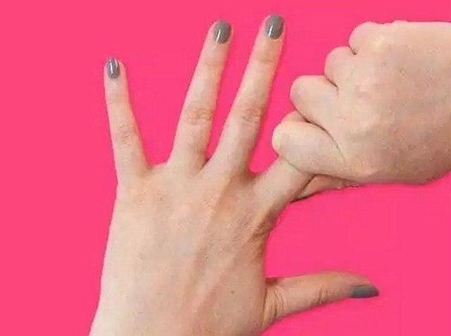 Держать себя за палец 20 секунд. Результат просто поразительный! Японские целители считают, что руки ... - 2