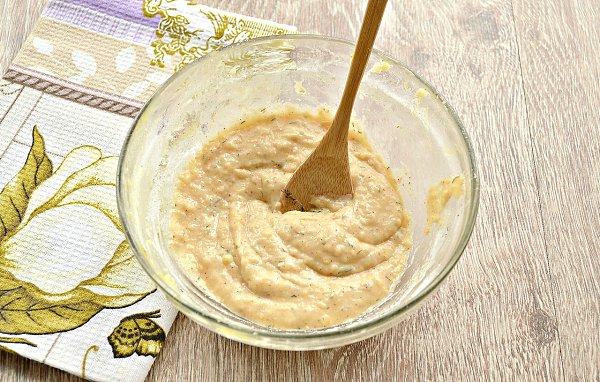 Оладьи из картофельного пюре.Ингредиенты:Готовое картофельное пюре — 500 гЯйцо — 1 шт.Мука — 3 ст. ... - 4