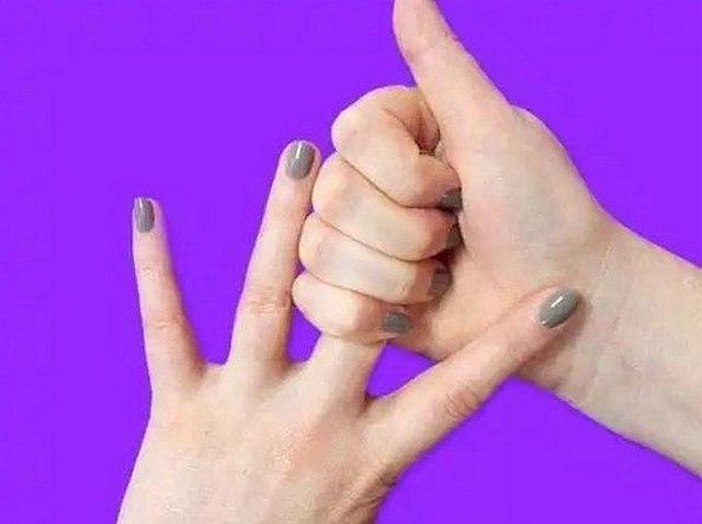 Держать себя за палец 20 секунд. Результат просто поразительный! Японские целители считают, что руки ... - 3
