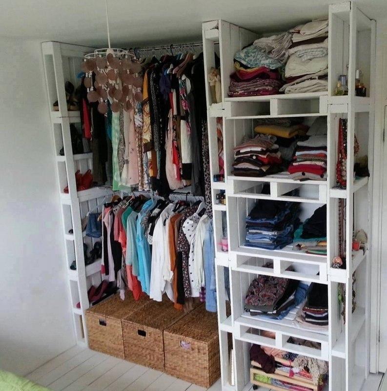 Бюджетные идеи для мебели из палет - 7