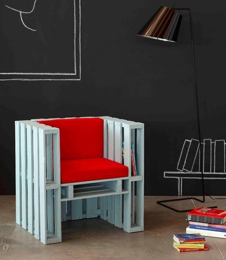 Бюджетные идеи для мебели из палет - 9