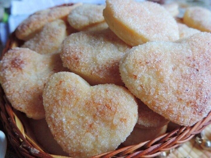 Творожное печенье «Слойка». Невероятно вкусное, просто тающее во рту слоеное творожное печенье. ...
