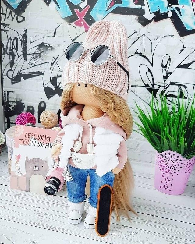 Очаровательные куколки ручной работы - 3