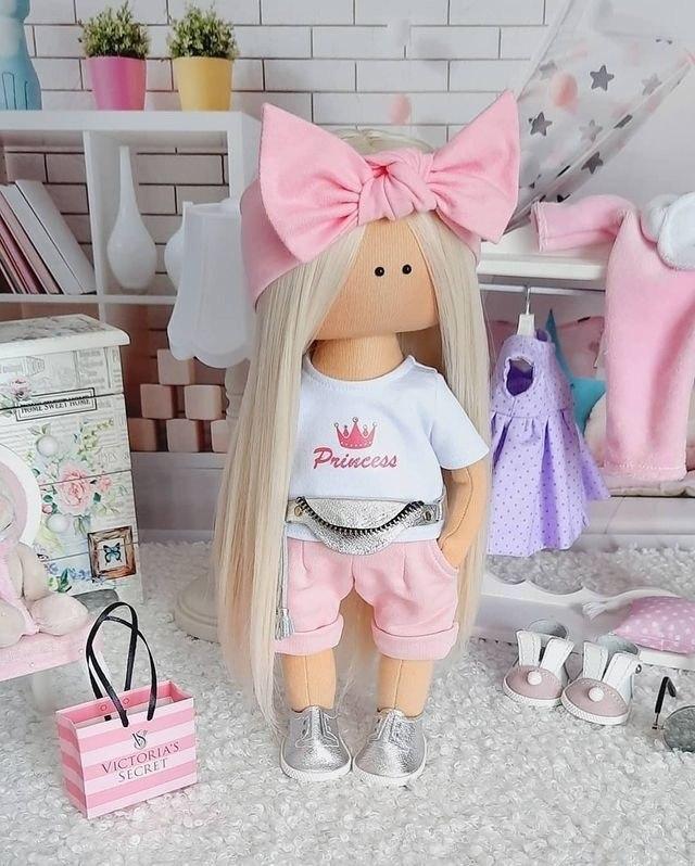 Очаровательные куколки ручной работы