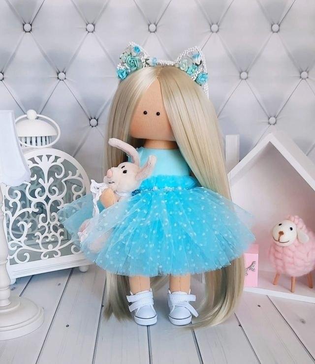 Очаровательные куколки ручной работы - 5