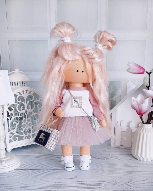 Очаровательные куколки ручной работы - 6