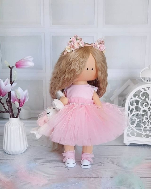 Очаровательные куколки ручной работы - 4